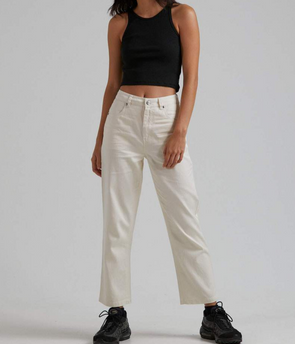 Afends - Shelby Hemp High Waist Wide Leg Pant