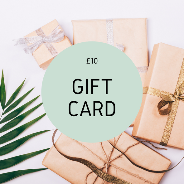 Gift Card - Online Store - £10