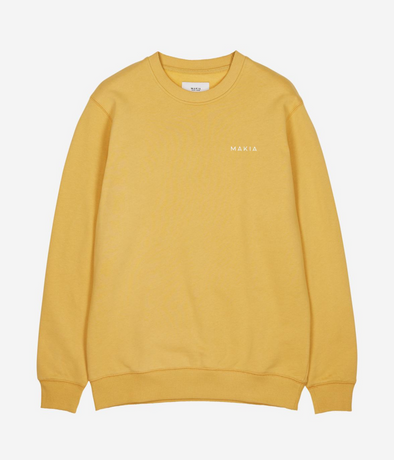 Makia - Trim Sweatshirt - Ochre