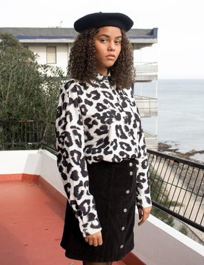 Pukas - Girl Leopard Shirt