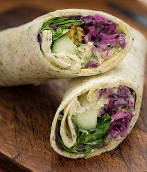 Deli Wrap of the Day (Vegan) - Serves 1