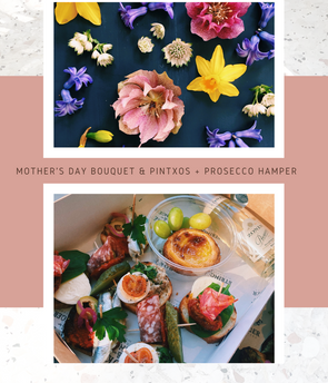 Mother's Day Bouquet & Pintxos Hamper