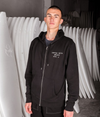Pukas - Surfing with Amigos Zip Hoodie - Black