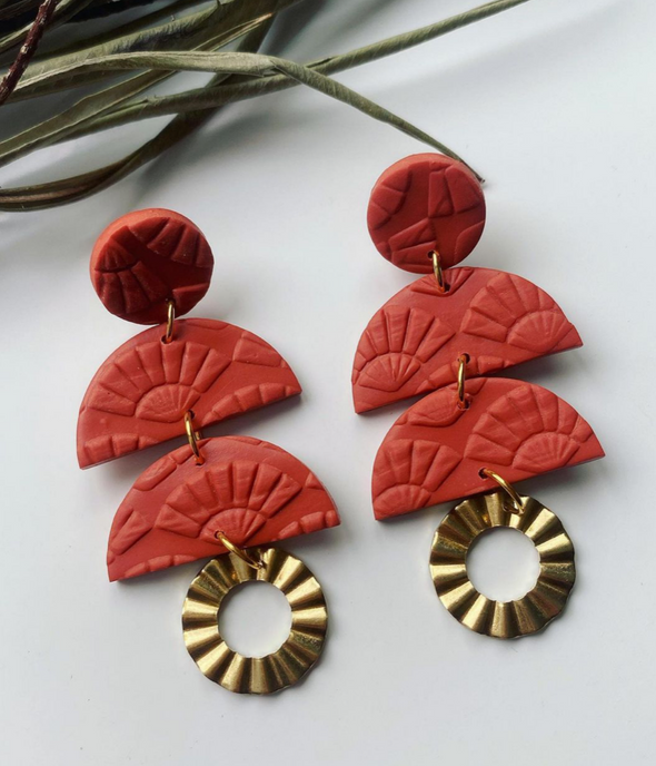 Terracotta Casablanca - Wild Moon Jewellery