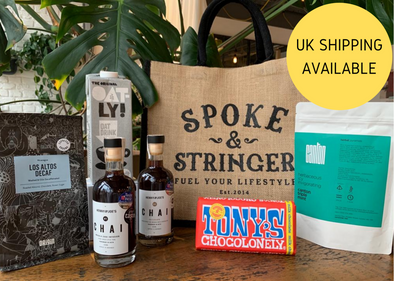 Spoke & Stringer - Coffee Essentials Hamper (Decaf)