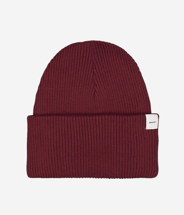 Makia - Simple Beanie - Port