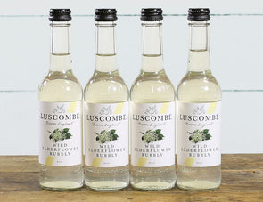 Wild Elderflower Bubbly - Luscombe - 4 x 250ml