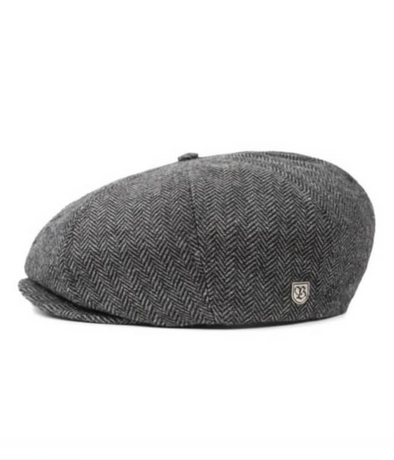 Brixton - Brood Snap Cap - Grey/Black
