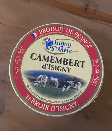 Pasteurised Camembert Isigny Sainte Mere Cheese - 250g