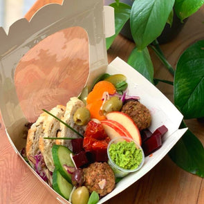 Falafel Antipasti Box (Vegan)