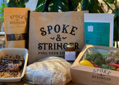 Spoke & Stringer Care Package - Veg Box & Goodies