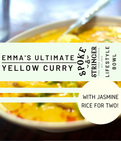 Emma's Ultimate Yellow Curry with Coconut Jasmine Rice (Vegan, Gluten-Free) - Serves 2