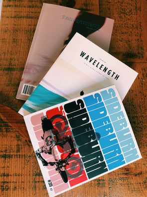 Magazine Bundle - Wavelength, Sideburn & Foam Symmetry