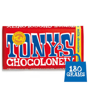 Tony Chocolonely - Milk Chocolate 180g