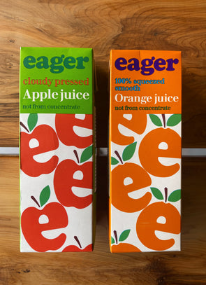 Eager Apple & Orange juice