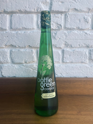 Elderflower Cordial - Bottle Green 500ml
