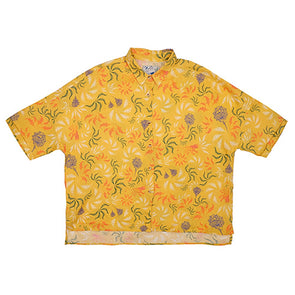 Pukas - Bayron Shirt Yellow Feline