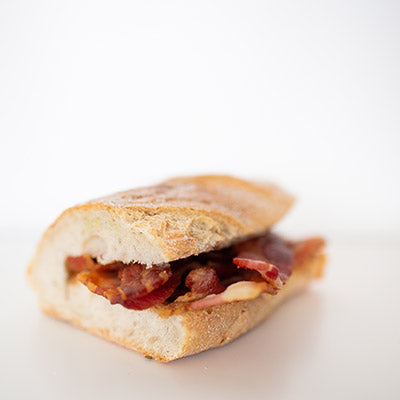 Bacon + Ketchup Sarnies