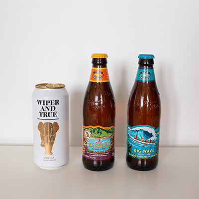 Selection of Craft Bottled Beer