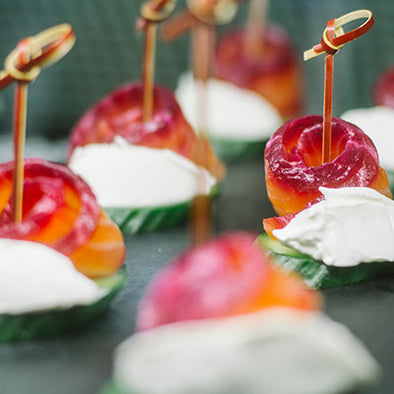 Canapes (Pintxos) (5 per person)