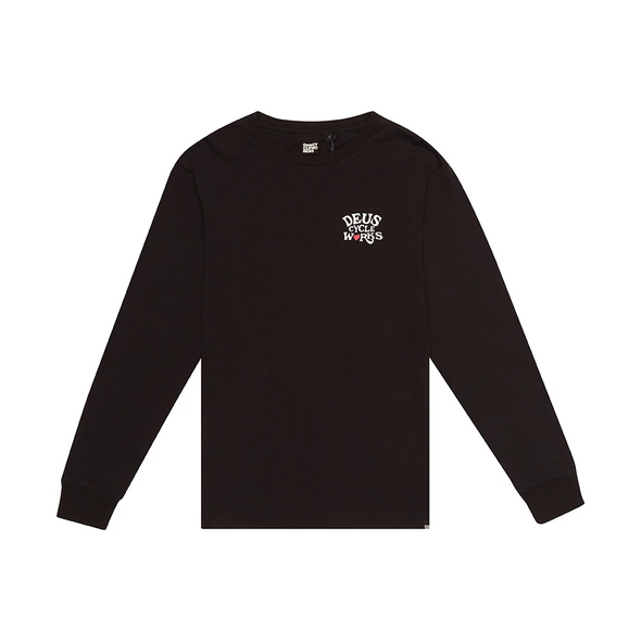 Deus ex Machina - Shaman Long Sleeve Tee - Black
