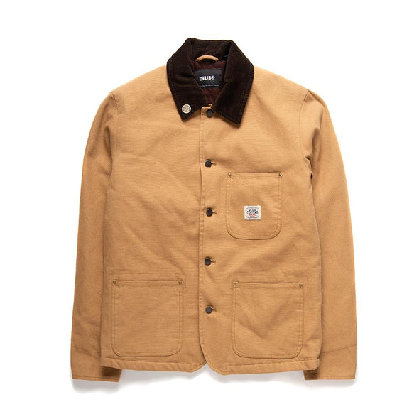 Deus Ex Machina - Hank Chore Shirt - Tan