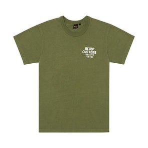 Deus Ex Machina  - Bronson Tee Forest Green
