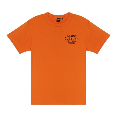 Deus Ex Machina  - Bronson Tee Harvest Orange