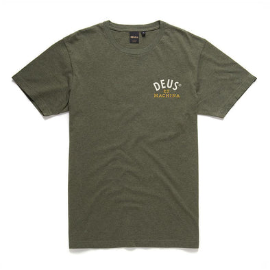 Deus Ex Machina  - Revival Tee Leaf Marle
