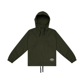 Deus ex Machina - Deckard Packable Anorak Jacket Forest Green