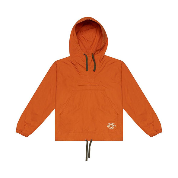 Deus ex Machina - Deckard Packable Anorak Jacket Harvest Orange