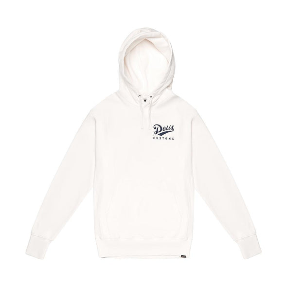 Deus Ex Machina - Austin Station Hoodie Vintage White