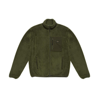 Deus Ex Machina - Fletcher Fleece Jacket Forest Green