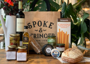 Spoke & Stringer - Cheese & Wine for Two Hamper