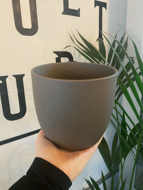 Brown Stone Ivyline Pot - 15cm