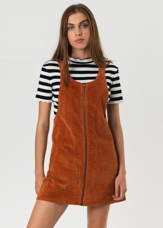 624c98bfe68 Afends - Jordan Pinafore Dress - Spice – Spoke & Stringer | Maximise ...