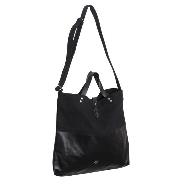 Stighlorgan - Kavan Canvas Leather Shoulder Tote