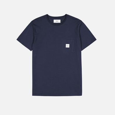 Makia - Square Pocket T-Shirt - Navy