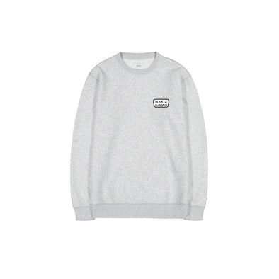 Makia - Emblem Sweatshirt - Grey