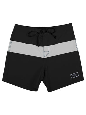 Pukas Surf Summer Black on White Boardshort