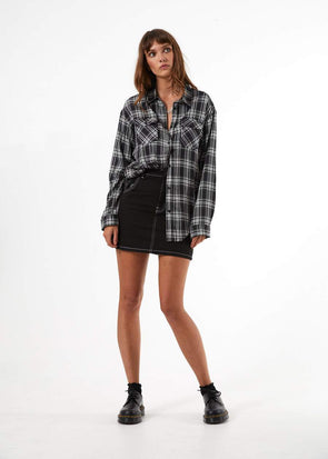 Afends - Lovecat Flannel Shirt