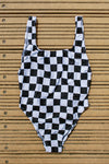 Pukas - 90's Swimsuit - Black & White