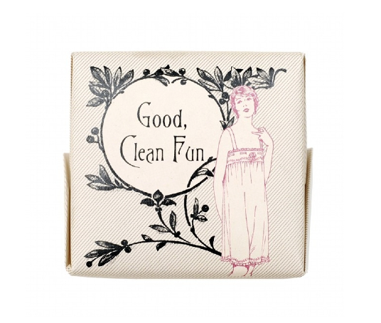 Mens Society - Bar of Soap 'Good Clean Fun'