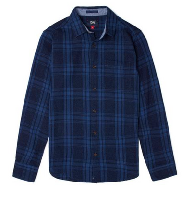 Deus Ex Machina - Ralph Check Shirt - Indigo