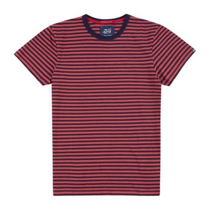 Deus Ex Machina  - Wei Indigo Stripe T-shirt