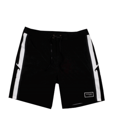 Pukas Surf - Boardshorts Ying Yang Waves Black 18""