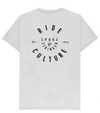 NEW Spoke & Stringer - Recycled Ride Culture Tee - Grey