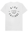NEW Spoke & Stringer - Organic Ride Culture Tee - White