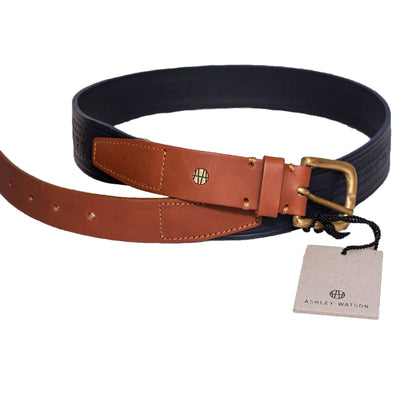 Ashley Watson - Embossed Leather Belt