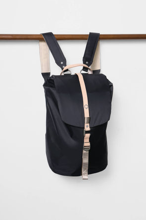 Stighlorgan - Finn - Flapover Laptop Backpack - NAVY